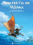 Cover icon of How Far I'll Go (from Moana) sheet music for voice, piano or guitar by Alessia Cara and Lin-Manuel Miranda, intermediate skill level