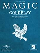 Cover icon of Magic sheet music for voice, piano or guitar by Coldplay, Christopher Martin, Guy Berryman, Jonny Buckland and William Champion, intermediate skill level