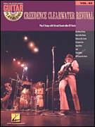 Cover icon of Bad Moon Rising sheet music for guitar (tablature, play-along) by Creedence Clearwater Revival and John Fogerty, intermediate skill level