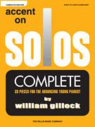 Cover icon of Enchanting Marketplace sheet music for piano solo (elementary) by William Gillock, beginner piano (elementary)