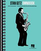 Cover icon of Billie's Bounce (Bill's Bounce) sheet music for tenor saxophone solo (transcription) by Stan Getz and Charlie Parker, intermediate tenor saxophone (transcription)