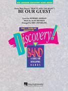 Cover icon of Be Our Guest (COMPLETE) sheet music for concert band by Alan Menken, Eric Osterling and Howard Ashman, intermediate skill level