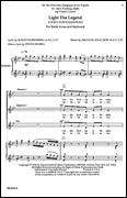 Cover icon of Light The Legend sheet music for choir (SSA: soprano, alto) by Michael Isaacson, intermediate skill level