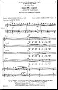 Cover icon of Light The Legend sheet music for choir (TTBB: tenor, bass) by Michael Isaacson, intermediate skill level
