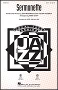 Cover icon of Sermonette sheet music for choir (SSA: soprano, alto) by Jon Hendricks, Kirby Shaw, Lambert, Hendricks & Ross and Julian Adderley, intermediate skill level