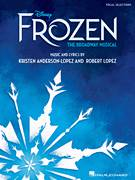 Cover icon of Dangerous To Dream (from Frozen: The Broadway Musical) sheet music for voice and piano by Robert Lopez, Kristen Anderson-Lopez and Kristen Anderson-Lopez & Robert Lopez, intermediate skill level