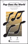 Cover icon of Pop Goes The World sheet music for choir (2-Part) by Alan Billingsley, Men Without Hats and Ivan Doroschuk, intermediate duet