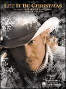 Cover icon of Let It Be Christmas sheet music for voice, piano or guitar by Alan Jackson, intermediate skill level