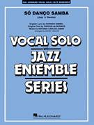 Cover icon of So Danco Samba (Jazz 'n' Samba) (arr. Mark Taylor) (COMPLETE) sheet music for jazz band by Norman Gimbel, Antonio Carlos Jobim, Mark Taylor and Vinicius de Moraes, intermediate skill level