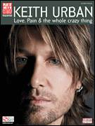 Cover icon of Faster Car sheet music for guitar (tablature) by Keith Urban, intermediate skill level