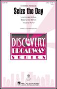 Cover icon of Seize The Day (from Newsies The Musical) (arr. Mac Huff) sheet music for choir (2-Part) by Alan Menken, Mac Huff and Jack Feldman, intermediate duet