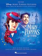 Cover icon of A Cover Is Not The Book (from Mary Poppins Returns) sheet music for piano solo by Emily Blunt, Lin-Manuel Miranda & Company, Marc Shaiman and Scott Wittman, easy skill level