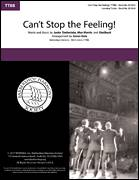 Cover icon of Can't Stop the Feeling! (arr. Aaron Dale) sheet music for choir (TTBB: tenor, bass) by Justin Timberlake, Aaron Dale, Johan Schuster, Max Martin and Shellback, intermediate skill level