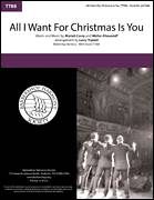 Cover icon of All I Want For Christmas Is You (arr. Larry Triplett) sheet music for choir (TTBB: tenor, bass) by Mariah Carey, Larry Triplett and Walter Afanasieff, intermediate skill level