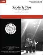 Cover icon of Suddenly I See (arr. Robert Rund) sheet music for choir (SSAA: soprano, alto) by KT Tunstall and Robert Rund, intermediate skill level