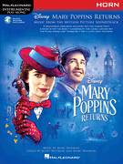 Cover icon of Turning Turtle (from Mary Poppins Returns) sheet music for horn solo by Meryl Streep & Company, Marc Shaiman and Scott Wittman, intermediate skill level