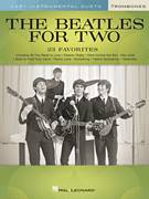 Cover icon of Yesterday sheet music for two trombones (duet, duets) by The Beatles, John Lennon and Paul McCartney, intermediate skill level