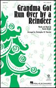 Cover icon of Grandma Got Run Over By A Reindeer (arr. Christopher Peterson) sheet music for choir (TTBB: tenor, bass) by Randy Brooks and Christopher Peterson, intermediate skill level