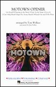 Cover icon of Motown Theme Show Opener (arr. Tom Wallace) (COMPLETE) sheet music for marching band by Tom Wallace and Miscellaneous, intermediate skill level