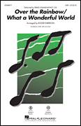 Cover icon of Over The Rainbow/What a Wonderful World (arr. Roger Emerson) sheet music for choir (SAB: soprano, alto, bass) by Harold Arlen, Roger Emerson, Bob Thiele, E.Y. Harburg and George David Weiss, intermediate skill level