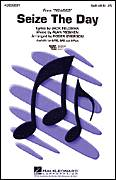 Cover icon of Seize The Day (from Newsies) (arr. Roger Emerson) sheet music for choir (SATB: soprano, alto, tenor, bass) by Alan Menken, Roger Emerson and Jack Feldman, intermediate skill level