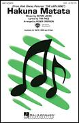 Cover icon of Hakuna Matata (from Disney's The Lion King) (arr. Roger Emerson) sheet music for choir (SAB: soprano, alto, bass) by Elton John, Roger Emerson and Tim Rice, intermediate skill level