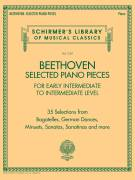 Cover icon of German Dance In E-Flat Major, WoO 13, No. 9 sheet music for piano solo by Ludwig van Beethoven, classical score, intermediate skill level