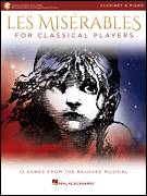Cover icon of Drink With Me (To Days Gone By) (from Les Miserables) sheet music for clarinet and piano by Alain Boublil, Boublil and Schonberg, Claude-Michel Schonberg and Herbert Kretzmer, intermediate skill level
