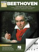 Cover icon of Choral Fantasy sheet music for piano solo by Ludwig van Beethoven, classical score, beginner skill level