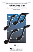 Cover icon of What Time Is It sheet music for choir (SAB: soprano, alto, bass) by Matthew Gerrard, Robbie Nevil, Ed Lojeski and High School Musical, intermediate skill level