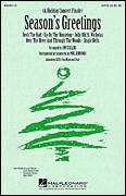 Cover icon of Season's Greetings (Medley) sheet music for choir (SATB: soprano, alto, tenor, bass) by Joyce Eilers, intermediate skill level