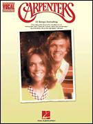 Cover icon of Rainy Days And Mondays sheet music for voice and piano by Carpenters, Paul Williams and Roger Nichols, intermediate skill level