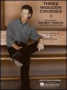 Cover icon of Three Wooden Crosses sheet music for voice, piano or guitar by Randy Travis, Doug Johnson and Kim Williams, intermediate skill level