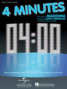 Cover icon of 4 Minutes sheet music for voice, piano or guitar by Madonna featuring Justin Timberlake, Miscellaneous, Justin Timberlake, Madonna, Nate Hills and Tim Mosley, intermediate skill level