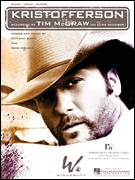 Cover icon of Kristofferson sheet music for voice, piano or guitar by Tim McGraw, Anthony Smith and Reed Nielsen, intermediate skill level