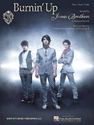 Cover icon of Burnin' Up sheet music for voice, piano or guitar by Jonas Brothers, Joseph Jonas, Kevin Jonas II and Nicholas Jonas, intermediate skill level