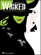 Cover icon of No One Mourns The Wicked (from Wicked) sheet music for voice, piano or guitar by Stephen Schwartz and Wicked (Musical), intermediate skill level