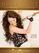 Cover icon of Breakout sheet music for voice, piano or guitar by Miley Cyrus, Gina Schock, Ted Bruner and Trey Vittetoe, intermediate skill level