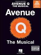 Cover icon of There's A Fine, Fine Line sheet music for voice, piano or guitar by Avenue Q, Jeff Marx and Robert Lopez, intermediate skill level