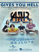 Cover icon of Gives You Hell sheet music for voice, piano or guitar by The All-American Rejects, Miscellaneous, Nick Wheeler and Tyson Ritter, intermediate skill level
