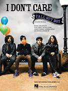 Cover icon of I Don't Care sheet music for voice, piano or guitar by Fall Out Boy, Andrew Hurley, Joseph Trohman, Norman Greenbaum, Patrick Stump and Peter Wentz, intermediate skill level