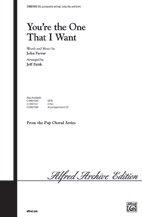 Cover icon of You're The One That I Want sheet music for choir (2-Part) by John Farrar, intermediate duet