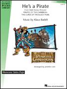 Cover icon of He's A Pirate sheet music for piano solo (elementary) by Klaus Badelt, Jennifer Linn, Miscellaneous and Pirates Of The Caribbean: The Curse Of The Black Pearl (Movie), beginner piano (elementary)