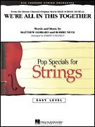 Cover icon of We're All in This Together (from High School Musical) (COMPLETE) sheet music for orchestra by Matthew Gerrard, Robbie Nevil and Robert Longfield, intermediate skill level