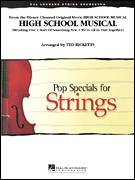Cover icon of High School Musical (COMPLETE) sheet music for orchestra by Ted Ricketts, intermediate skill level