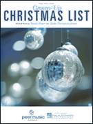 Cover icon of Grown-Up Christmas List sheet music for voice, piano or guitar by Amy Grant, David Foster and Linda Thompson-Jenner, intermediate skill level