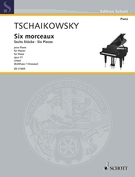 Cover icon of Valse sentimentale sheet music for piano solo by Pyotr Ilyich Tchaikovsky, classical score, advanced skill level