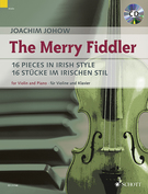 Cover icon of The Merry Fiddler sheet music for violin and piano by Joachim Johow, easy skill level