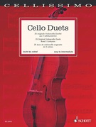 Cover icon of Duetto in C major, Op. 7, No. 6 sheet music for two cellos by Johann Georg Christoph Schetky, classical score, easy/intermediate skill level