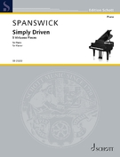 Cover icon of Frenzy sheet music for piano solo by Melanie Spanswick, classical score, intermediate/advanced skill level